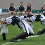 2011 smb drum majors back bend
