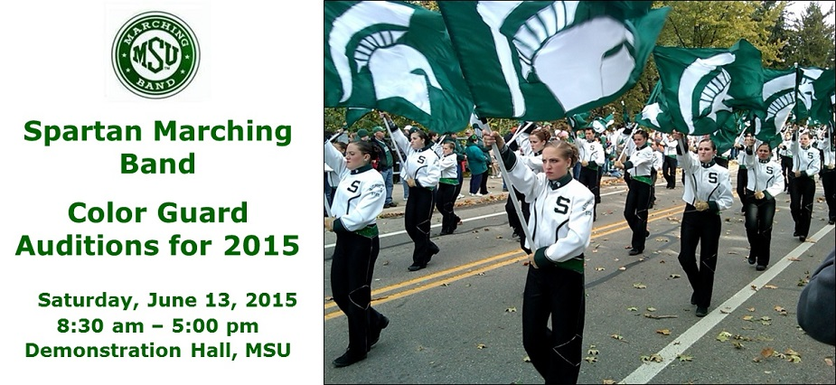 2015 Color Guard Auditions