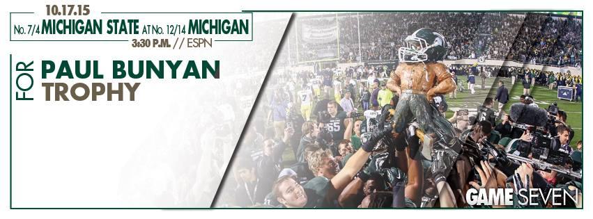 Next Game – October 17 – MSU vs. Michigan (Away)