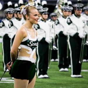 Meet the Band: Taylor Scheffer – The Spartan Marching Band Feature Twirler